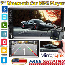 Touchscreen HD 1080P Car Stereo FM AM MP5 Player Android/IOS Mirror Link For GPS