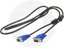 VGA Computer Cable VGA to VGA 15pin (4ft) 1.3M Monitor LCD PC Display Screen TV