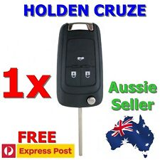 2 X Holden Cruze BARINA Trax 3 Button Remote Flip Key Blank Shell/case