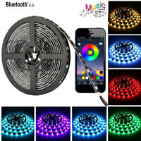 5V USB LED Stripe RGB Leiste Streifen 5050 Band Wasserdicht Lichterkette 1-5m