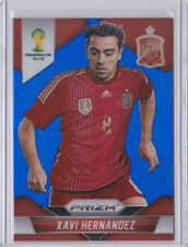 2014 World Cup Panini Blue Prizm XAVI HERNANDEZ Spain 061/199 card