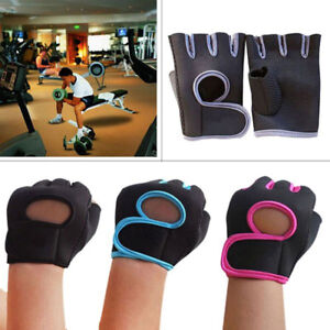Men Women Fitness Exercise Weight Lifting Body Building Gloves Gym Training New