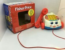 Vintage  Fisher Price chatter phone  1999 Matel   in box. vgc