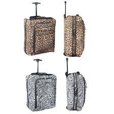 Canvas Soft Expandable Upright (2) Wheels Luggage