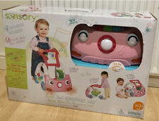 Infantino Grow With Me 3 In 1 Sensory Discovery Car Push Along With Sound InPink