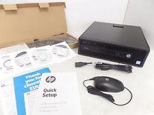 HP EliteDesk 800 G2 SFF Desktop PC Intel Core i7-6700 4GB 500GB W7P P4K01UT SD