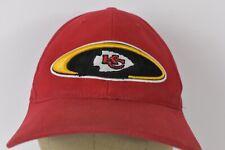 Kansas City Chiefs Football Team Red Baseball Hat Cap Adjustable