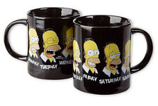 THE SIMPSONS - CERAMIC COFFEE MUG / CUP (HOMER: 7 DAYS A WEEK)