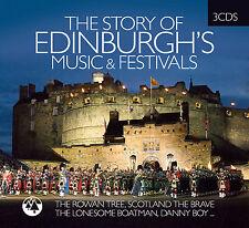 CD Édimbourg Musique Festival, The Story Of d'Artistes divers 3CDs