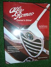 Alfa Romeo Owner's Bible MANUAL GTV-6 164 BERLINA MILANO 75 GIULIA SPIDER 1954>