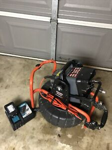 RIDGID COLOR COMPACT2 SEESNAKE VIDEO INSPECTION SEWER CAMERA CS6 90'