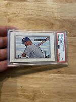 MICKEY MANTLE PSA 7 New York Yankees 1989 Bowman Insert Man Cave Collector Card