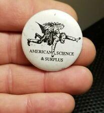 Vintage American Science & Surplus pin brooch badge Skydive