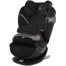 Cybex Pallas S-Fix - Deep Black - Gruppe 1-2-3 Kindersitz NEU
