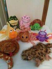 Webkinz Snake Fish Frogs Iguana Zumbuddy Turtle Lot of 8