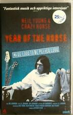 NEIL YOUNG Year Of The Horse Sandrews 60072 Swedish Text run 1h47min VHS PAL