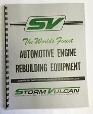 Storm Vulcan Model D50-DS Dyno Stand Manual