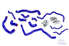 HPS Silicone Radiator+Heater For Hose 06-08 EOS 12-13 Golf R 2.0T Turbo LHD Blue