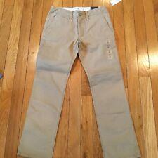 New NWT Gap Kids Boys Size 8 Regular Khaki Uniform Pants Adjustable Waist