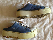Skechers Sport Blue And White Low Back Womens Size 8 Shoes (USED)