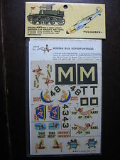 1/72  VINTAGE ESCI DECAL N°9 USA BOEING B 29 SUPERFORTRESSE