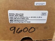 KB Electronics SIAC Part no. 9600 Signal Isolator for use with KBAC (2G)