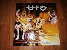 *USED* UFO : Live Throughout The Years - 4CD Box Set *OFFERED WITH FREE POSTAGE*