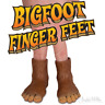 BIGFOOT FINGER FEET 1 Pair Finger Puppets Gag Gift Archie McPhee