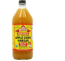 Bragg orgánico Raw vinagre de sidra de manzana X 946 Ml Libre De Gluten