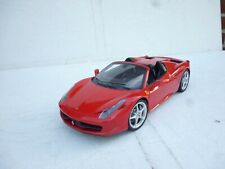 Hot Wheels  1/18 Scale - Ferrari 458  Spider Diecast Model  OHNE BOX (WA2572)
