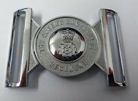 Genuino British Army Qlr Reinas Lancashire Regiment Regimiento Cinturón Hebilla
