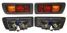 For Toyota Land Cruiser 90 J9 995-2002 SUV Tail Rear Bumper Fog Lights Lamps SET