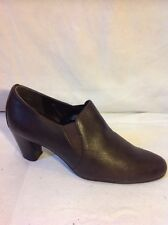 Marks&Spencer Brown Ankle Leather Boots Size 3.5