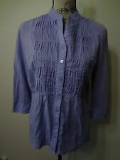 Womens Coldwater Creek Size S Small 6 8 Lavender Purple Top
