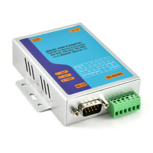 TCP/IP to Serial RS-485 Converter RS232 Read 256 Meters by Internet Ethernet #15