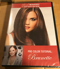 Beth Minardi Vero K-PAK Color System DVD Hair Dying Tutorial BRUNETTE Opened