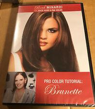 Beth Minardi Vero K-PAK Color System DVD Hair Dying Tutorial BRUNETTE Opened