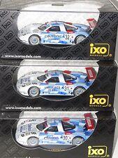 x3 1/43 Nissan R390 GT1  Nissan Motorsports TWR 3 car Team  Le Mans 24 Hrs 1998