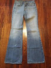 Seven For All Mankind Women's Jeans Size 26 Flare Zipper Fly