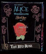 Disney Gallery Alice In Wonderland Singing ROSE Boxed Le Pin