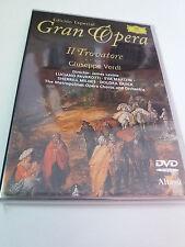 """DVD """"VERDI IL TROVATORE"""" JAMES LEVINE LUCIANO PAVAROTTI EVA MARTON SHERRILL MILN"""
