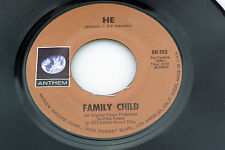 Family Child: He / What About the Music  [Unplayed Copy]