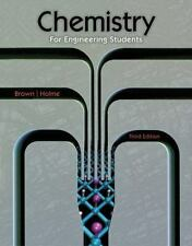 Chemistry for Engineering Students by Larry Brown and Tom Holme (2014, Hardcover