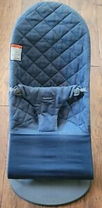 BabyBjorn Soft quilted Bouncer - Gray, gently used