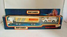 MATCHBOX TEAM CONVOY TC 15 Pirelli Set 1992 1:90 BOXED Pre-owned
