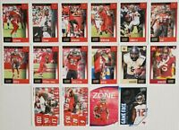 2020 Score Tampa Bay Buccaneers Team Set with Rookies and Inserts 16 Card Lot