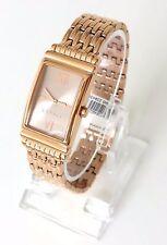 Esprit Damen Uhr Vickie rosé gold Edelstahl römisch Rechteck ES108492003