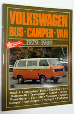VOLKSWAGEN BUS - CAMPER - VAN 1979 - 1989 - BROOKLANDS BOOKS