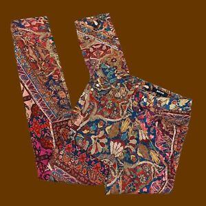 Just Cavalli Tapestry Print Skinny Jeans