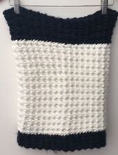 Scarf Navy/White French Connection<NH12155